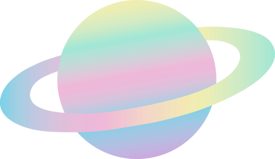 jpg freeuse stock Vector color pastel. Planet clipart colored pencil