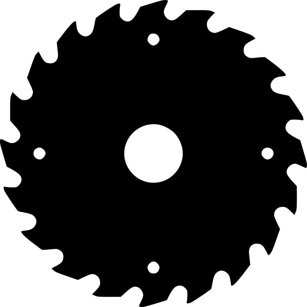 vector library library  outline png for. Sawblade vector circular saw blade
