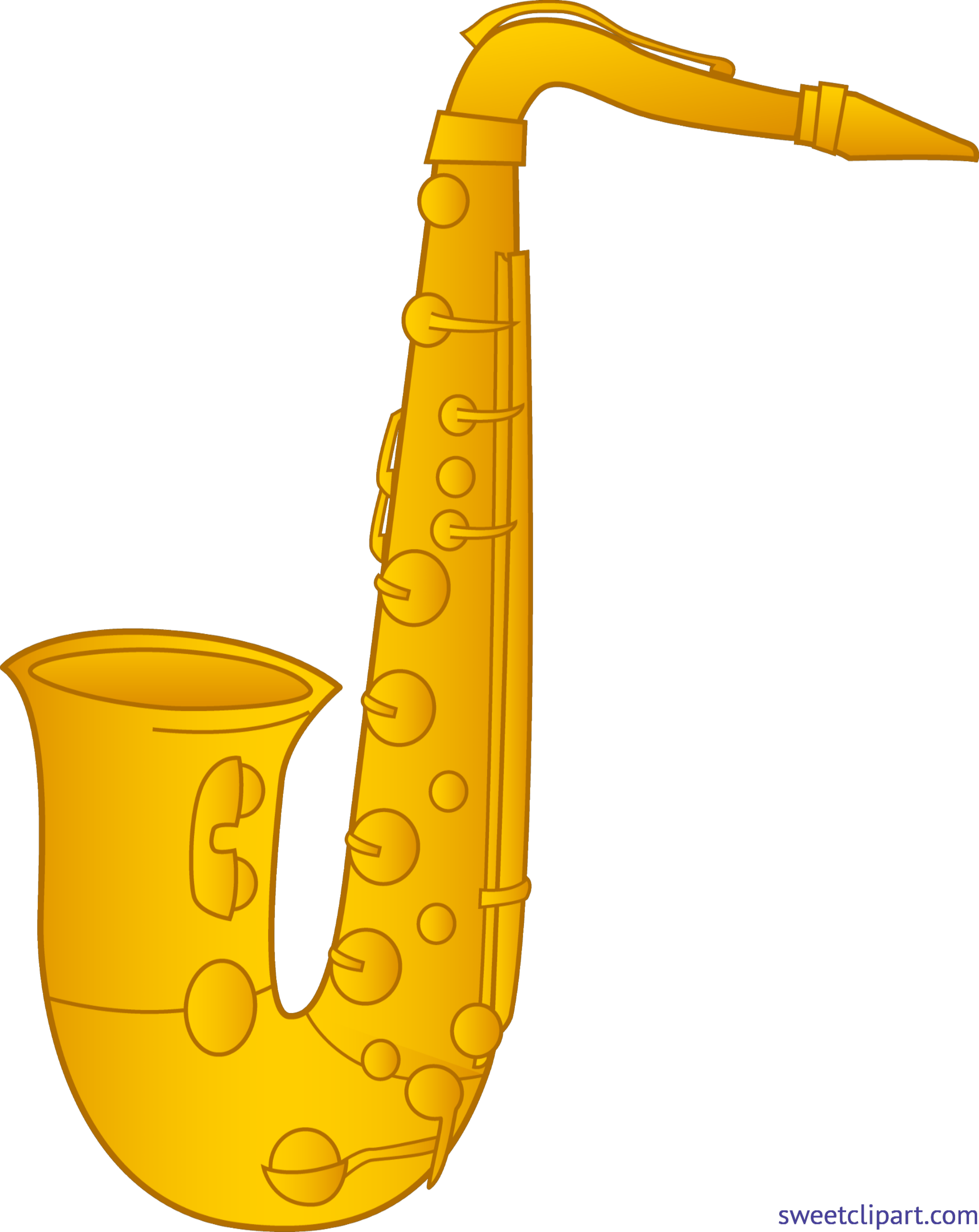 picture royalty free Saxophone clipart. Clip art sweet