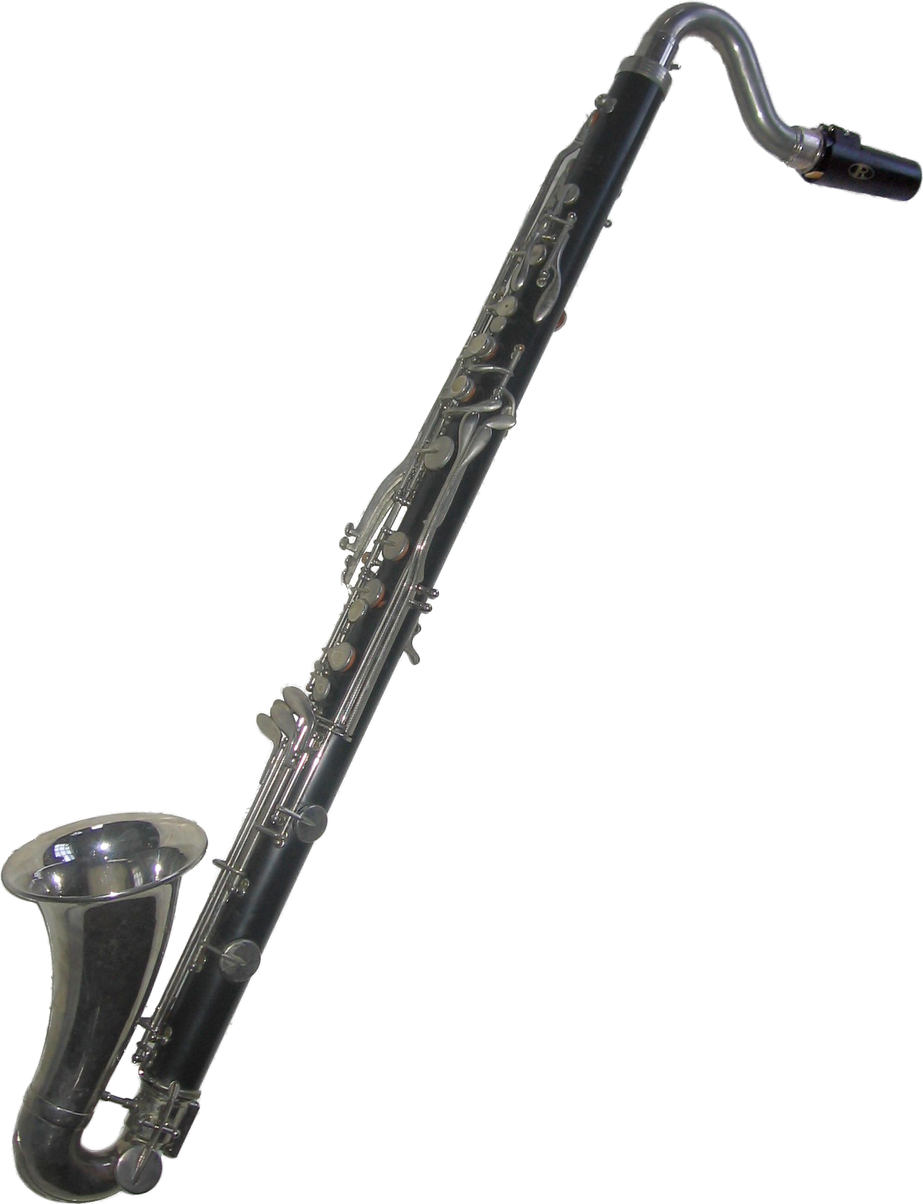 svg transparent library Bass clarinet