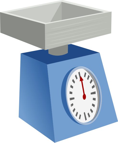 svg library download Scales clipart. Food scale .