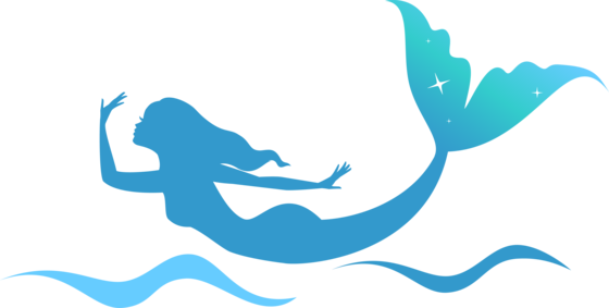 clip freeuse stock Mermaid Tail Silhouette at GetDrawings