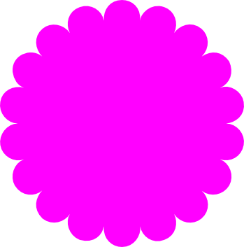 clip art royalty free download Scalloped circle free svg download