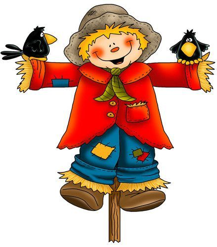 image royalty free library Clip art images free. Scarecrow clipart.