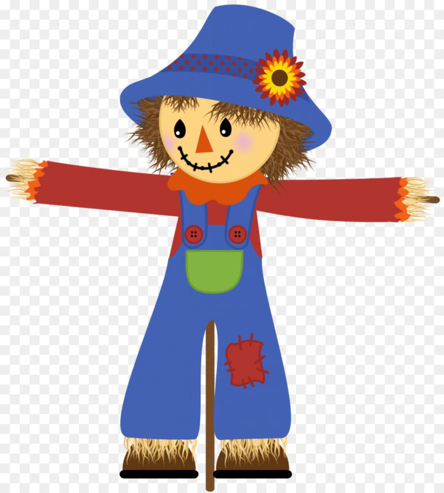clip stock Scarecrow clipart. Clip art illustration .