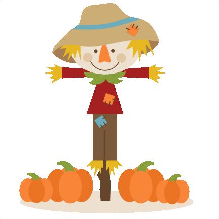 jpg transparent Cute Scarecrow Clipart