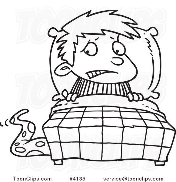 svg transparent stock Scared drawing black and white. Cartoon line of a