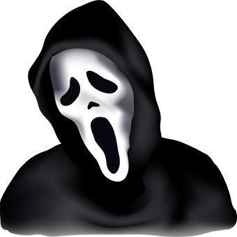 svg royalty free stock Free scary cliparts download. Scarey clipart.