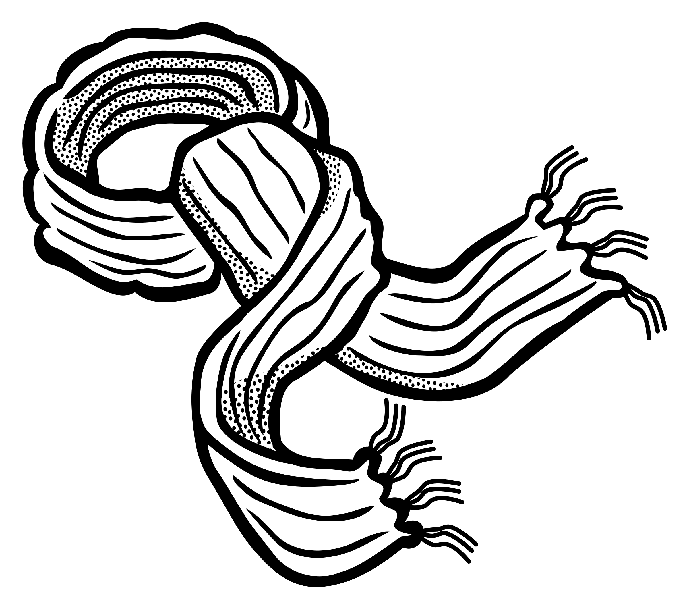 svg black and white Transparent png stickpng. Scarf clipart.