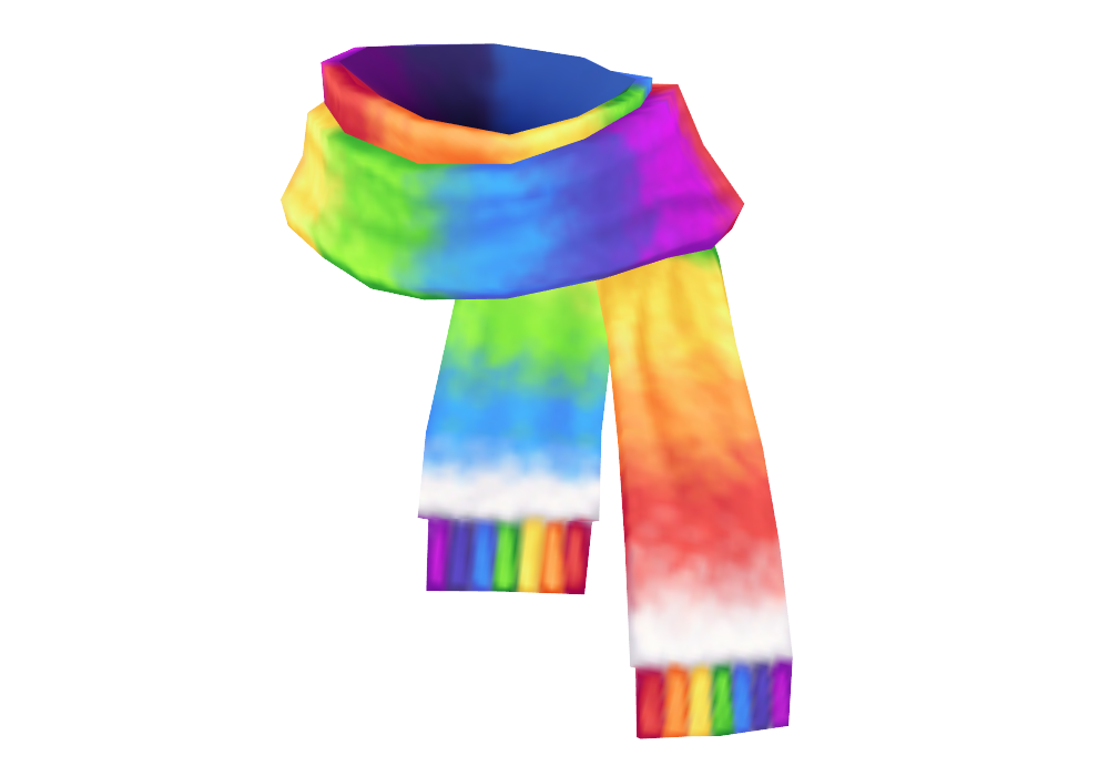 clip art free library Rainbow Scarf DL by Reseliee on DeviantArt