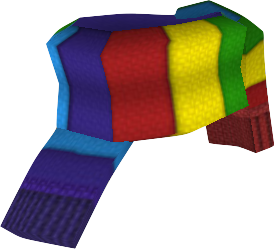 clipart free library Image png toontown rewritten. Scarf transparent rainbow