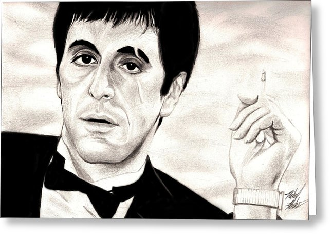 picture library download Scarface drawing.