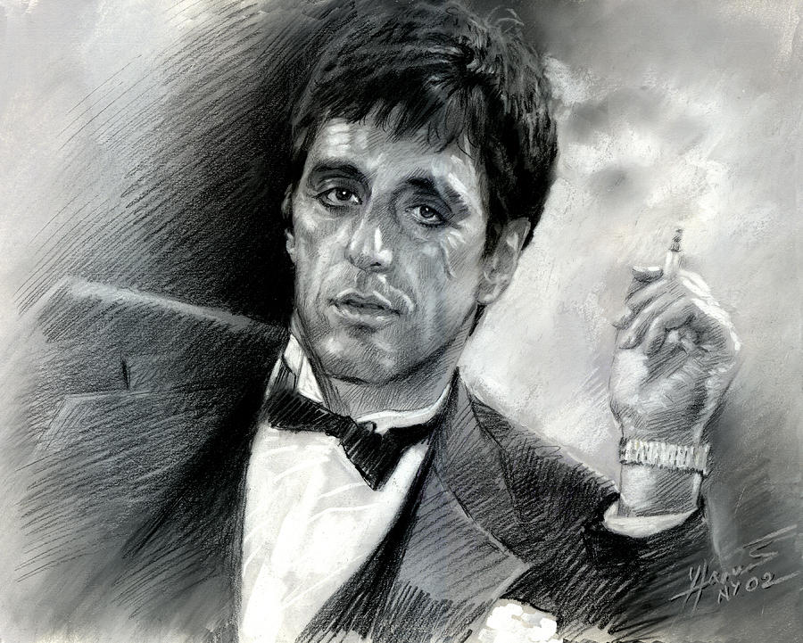 picture library download . Scarface drawing