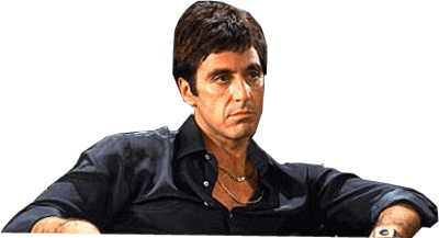 picture stock Al Pacino Scarface transparent PNG