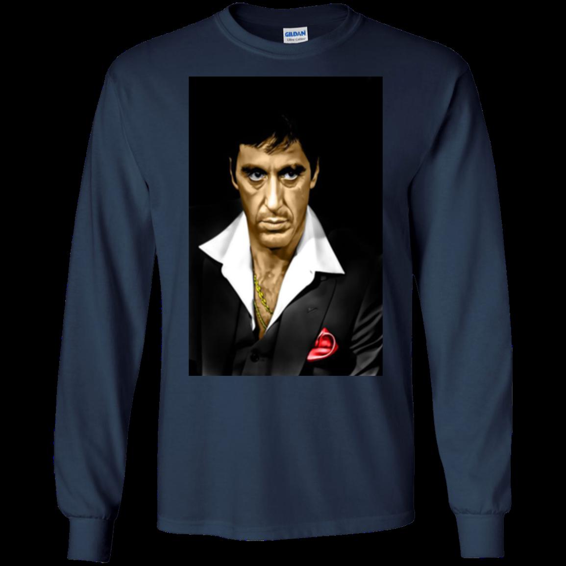 clip art freeuse stock Scarface Tony Montana Hoodies Sweatshirts