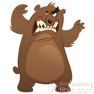 picture free stock Portal . Scary bear clipart