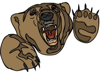 svg free stock Free scared cliparts download. Scary bear clipart