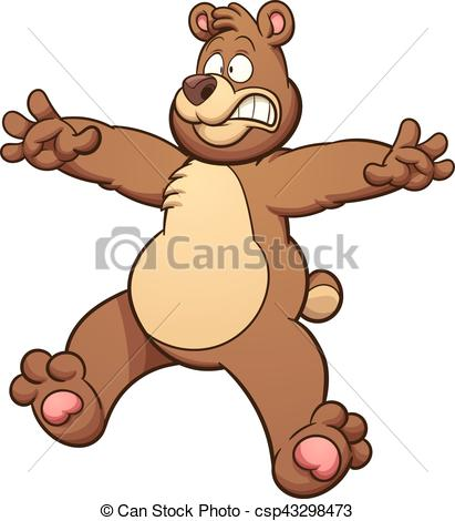 clipart library download Scary bear clipart. Portal