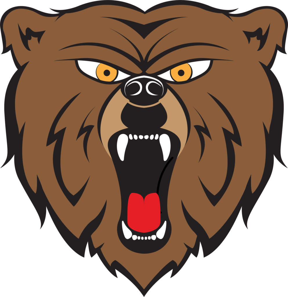 picture freeuse stock Scary bear clipart.  angry images and