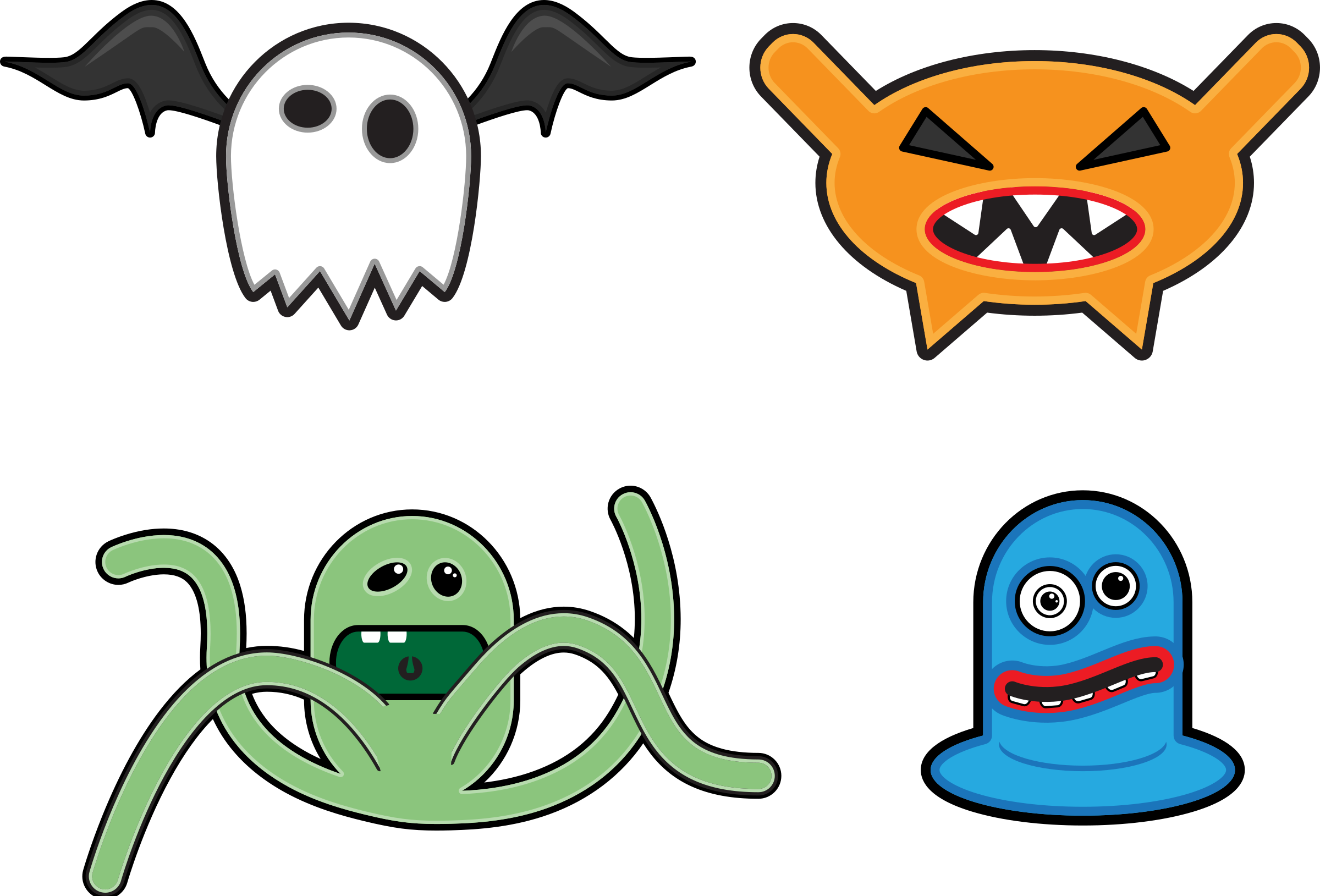 clipart library download Scary Monster Clipart at GetDrawings