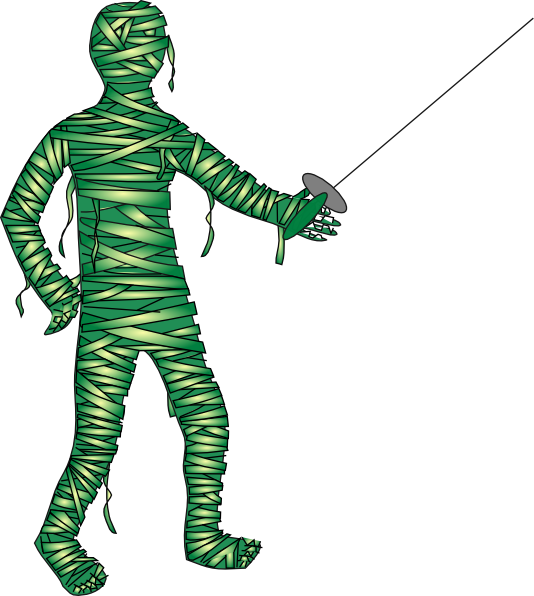 picture download Green Fencing Mummy Clip Art at Clker