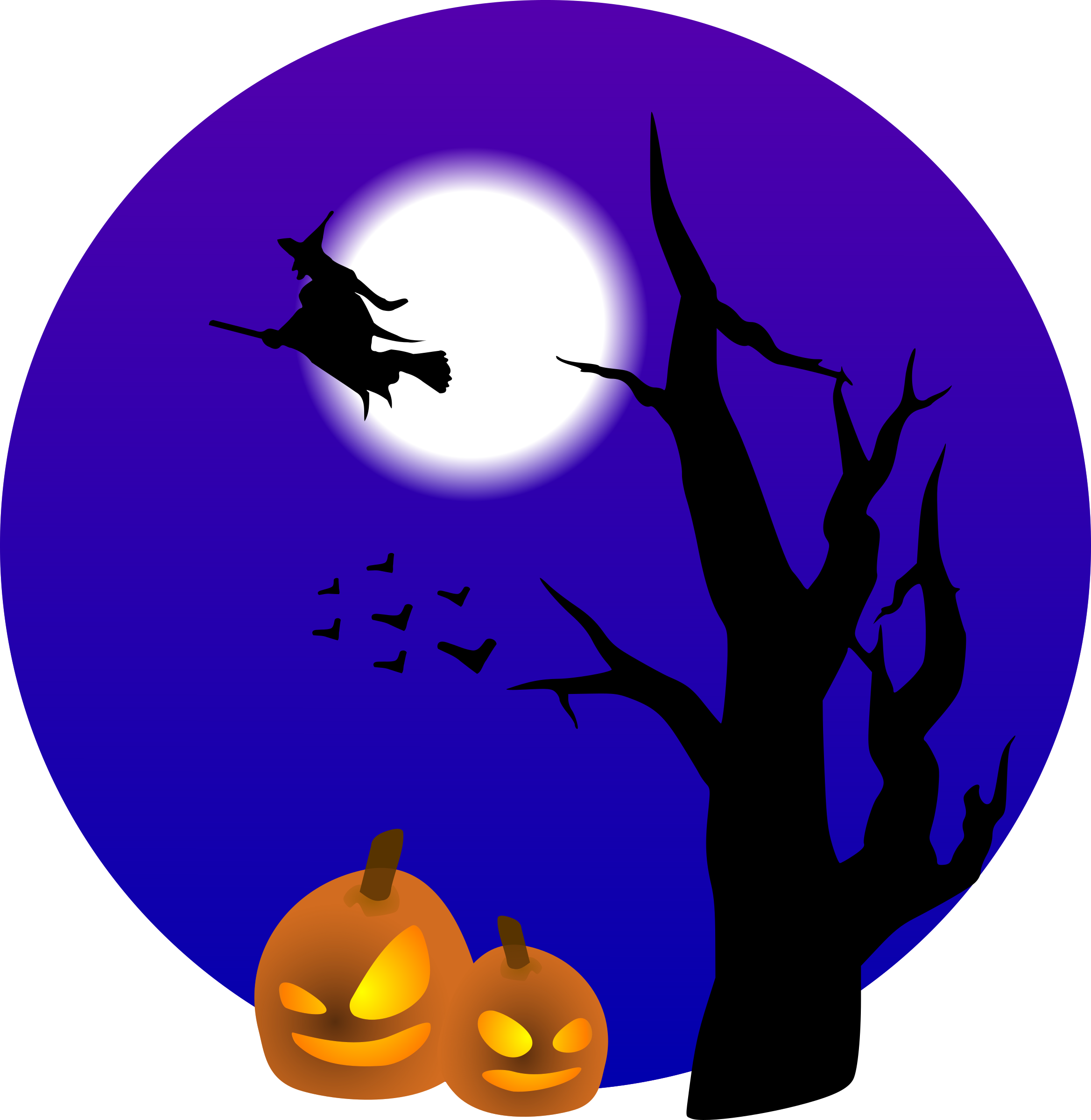 banner freeuse stock Halloween clipart borders. Scene big image png