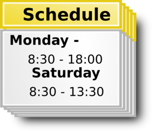 png library download Schedule clipart. Symbol clip art at.