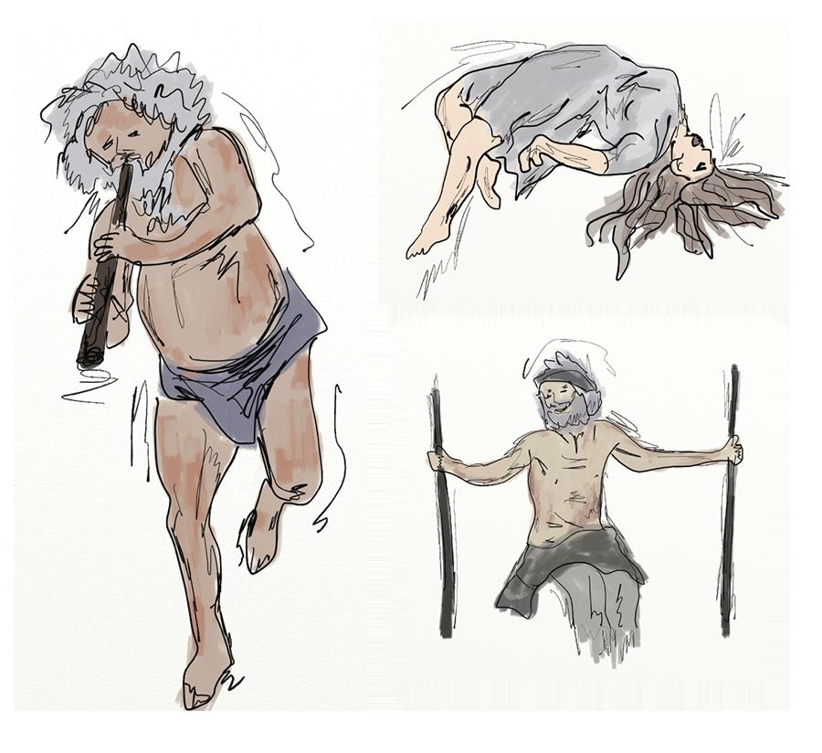 jpg free Schizophrenia drawing. Kristinbell design gifimages