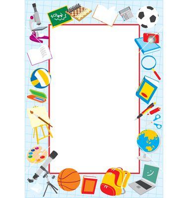 jpg free library School borders clipart. Clip art border vector