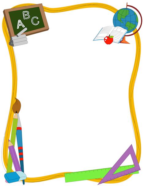 clip art free Free border download clip. School borders clipart