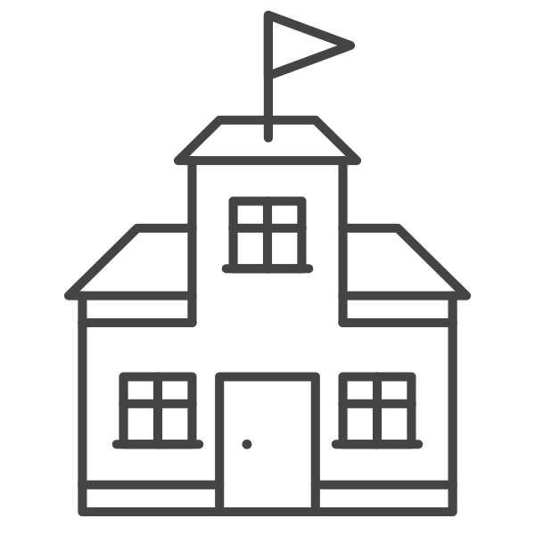 png free School building clipart black and white. Facility rentals kaneland buildings