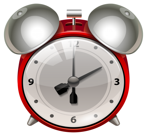 clipart free stock Red Alarm Clock PNG Clip Art