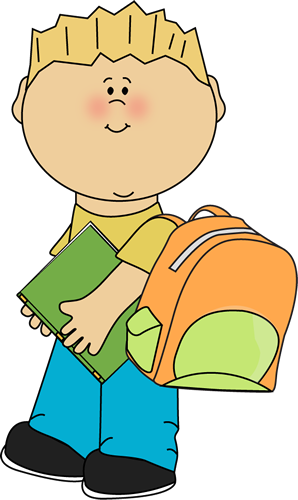 png Boy going to from. School kid clipart