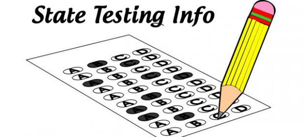 clip library stock Niceville high school information. State testing clipart