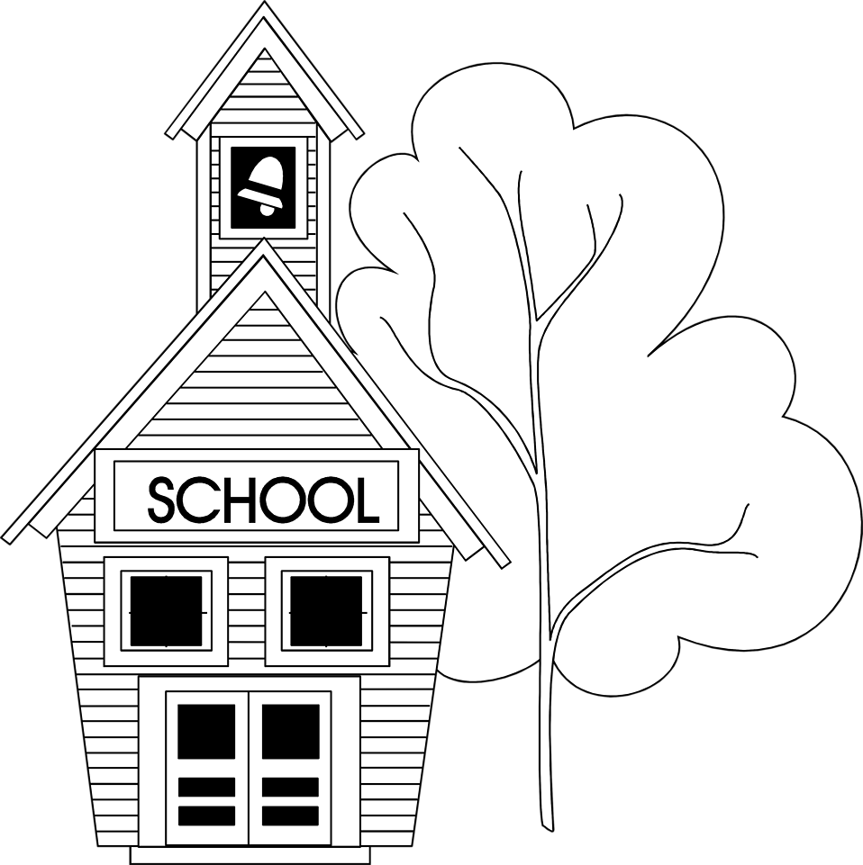 svg transparent download  collection of png. Back to school clipart black and white