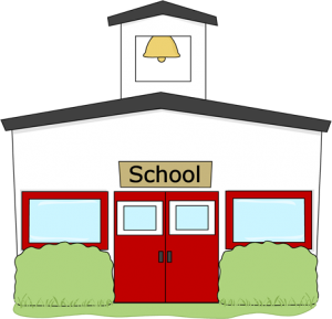 jpg free library High School Building Clip Art