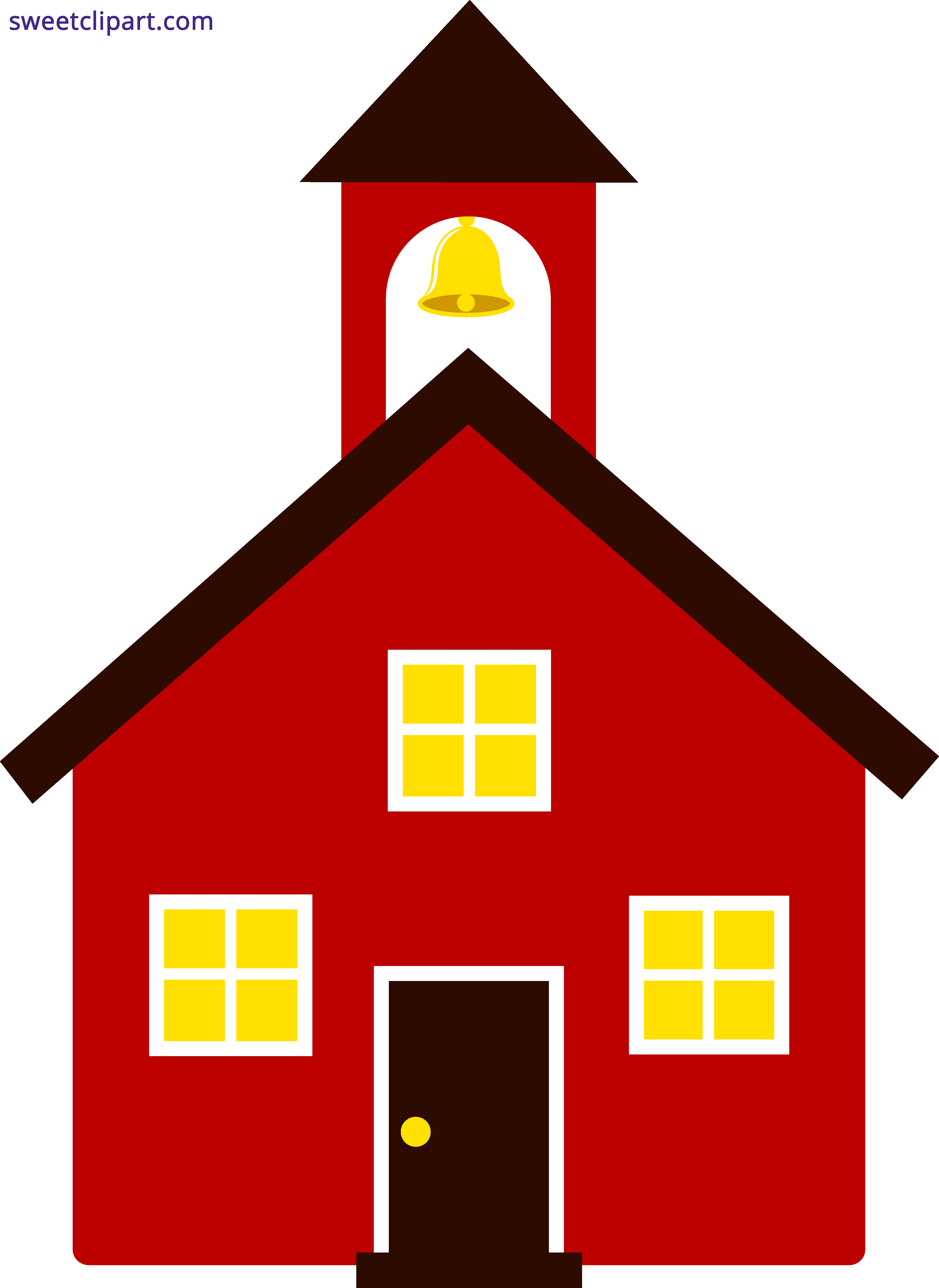 jpg royalty free library School House Red Clipart