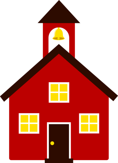 svg free Free clip art of an old fashioned little red school house