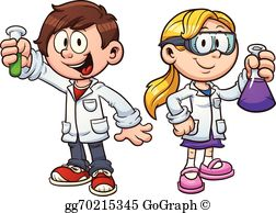 vector free Science clipart for kids. Scientist clip art royalty