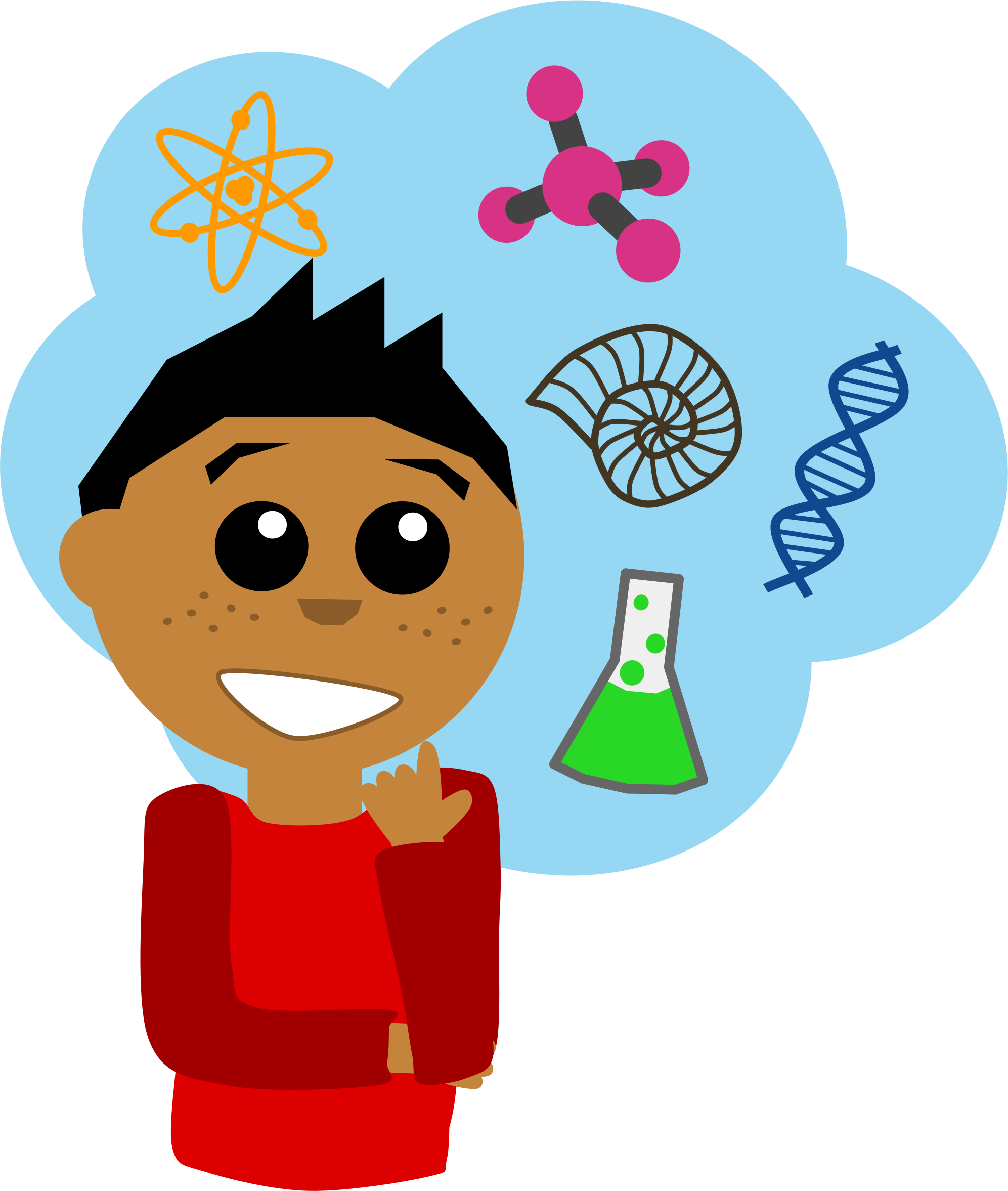 png free library Scientist question free on. Experiment clipart science investigation