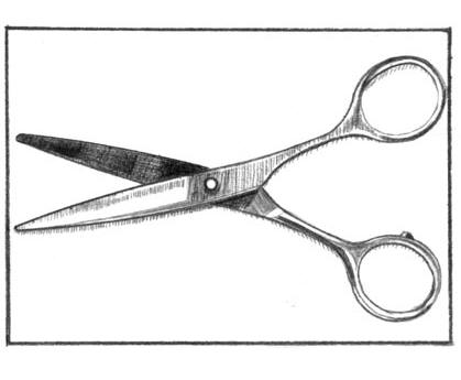 jpg freeuse Shears Drawing at PaintingValley