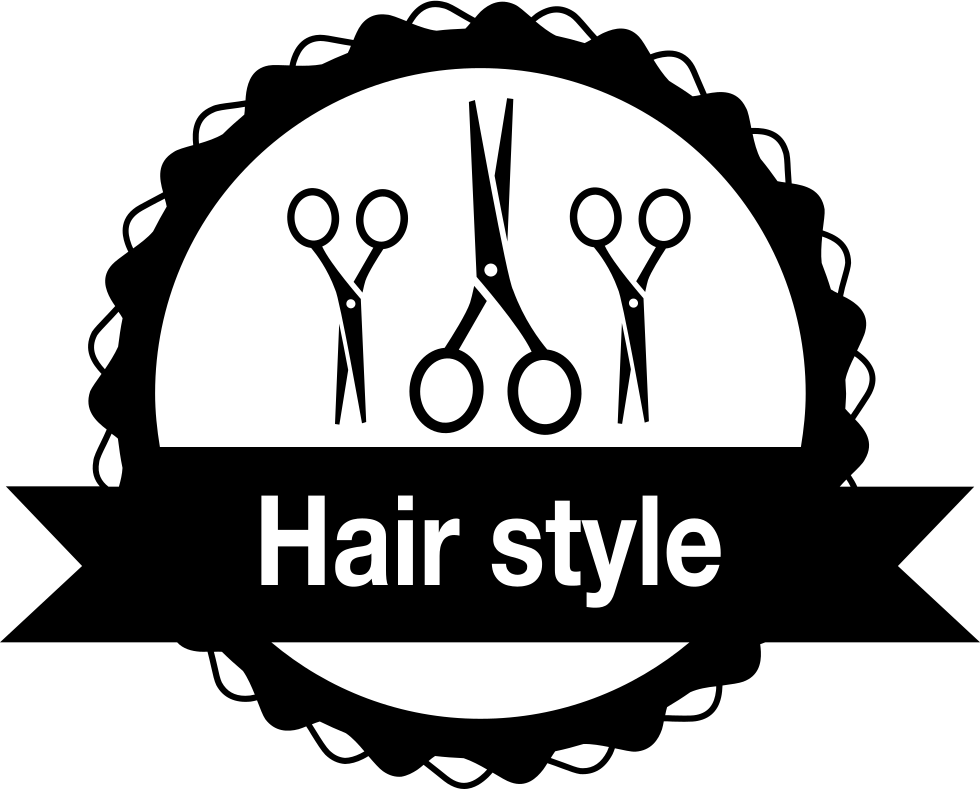royalty free download Hair Salon Badge With Scissors Svg Png Icon Free Download