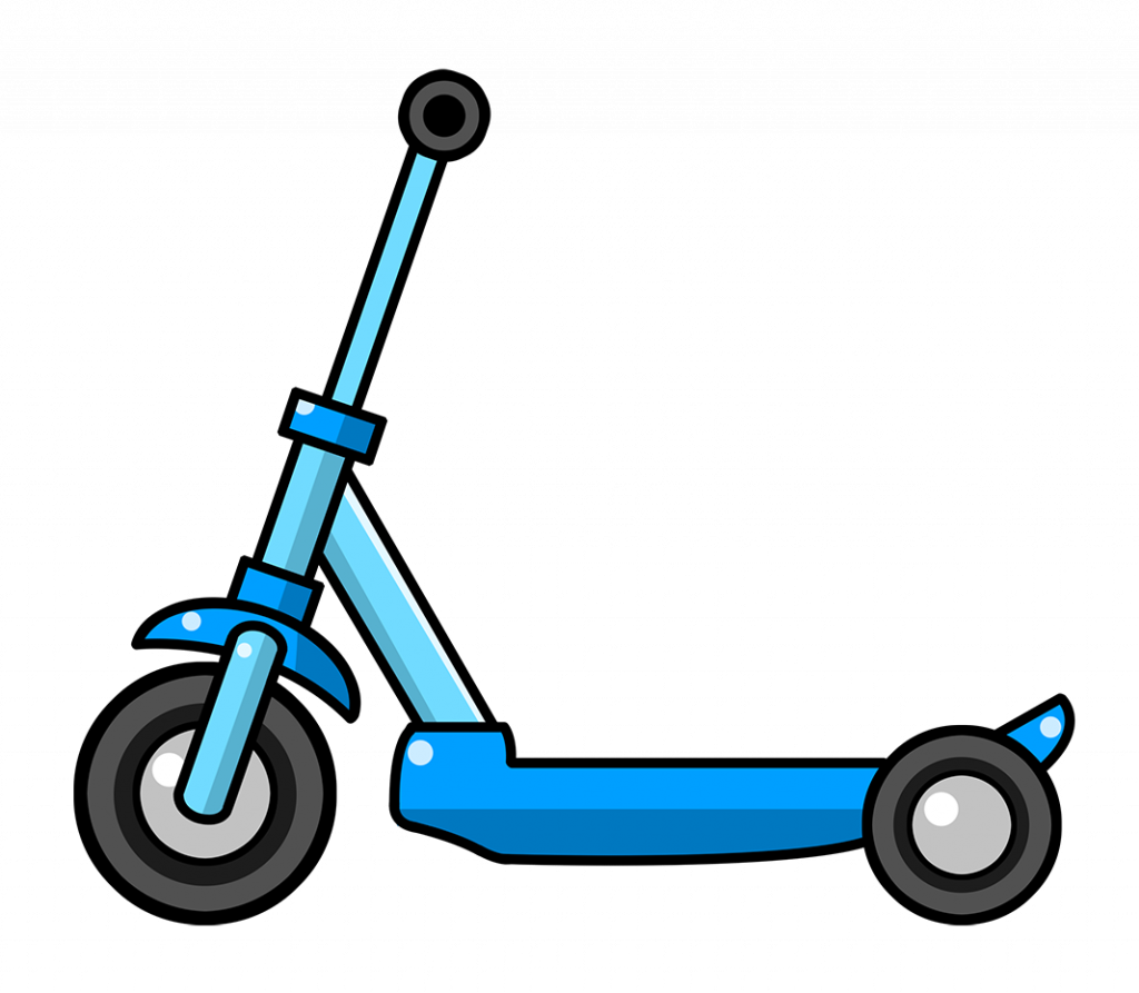 graphic free Scooter clipart. Free on dumielauxepices net