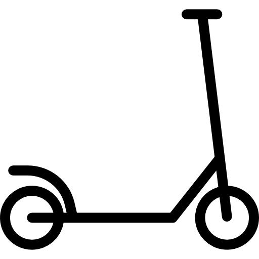graphic black and white stock Scooter clipart. Kick png photos transparentpng