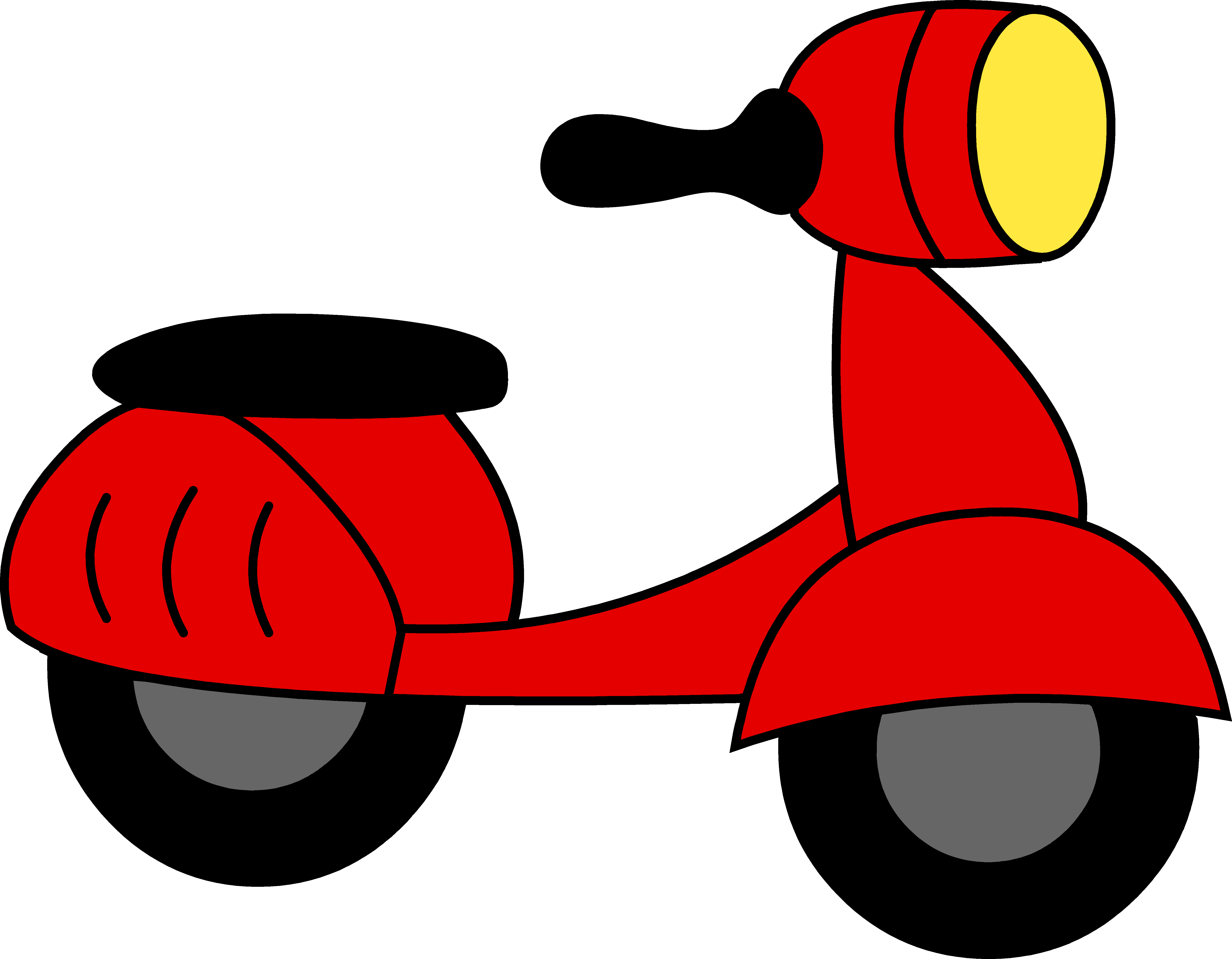 picture download Little Red Motor Scooter