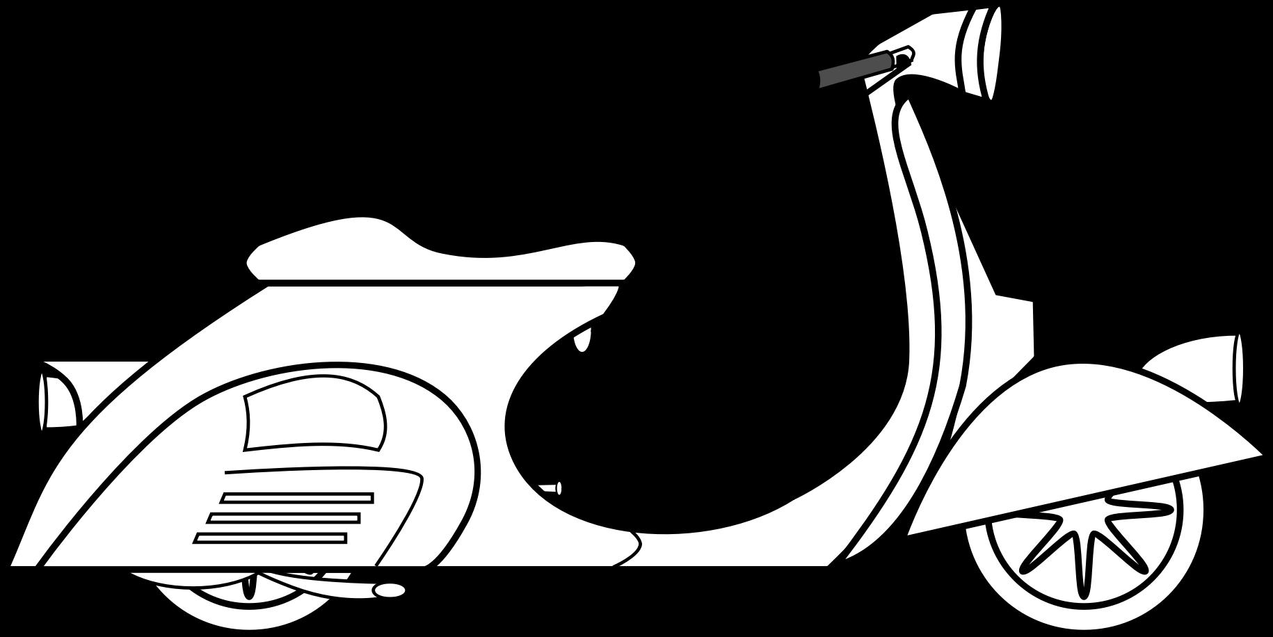 vector transparent stock Vespa big image png. Scooter clipart motor vehicle