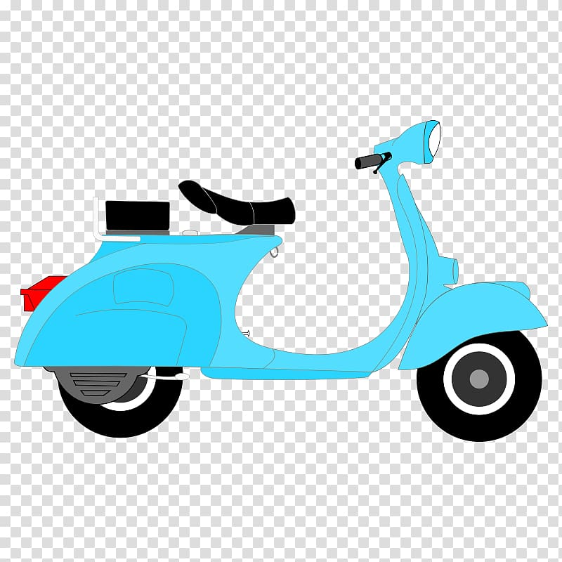 graphic freeuse stock Scooter clipart motor vehicle. Moped motorcycle vespa bear