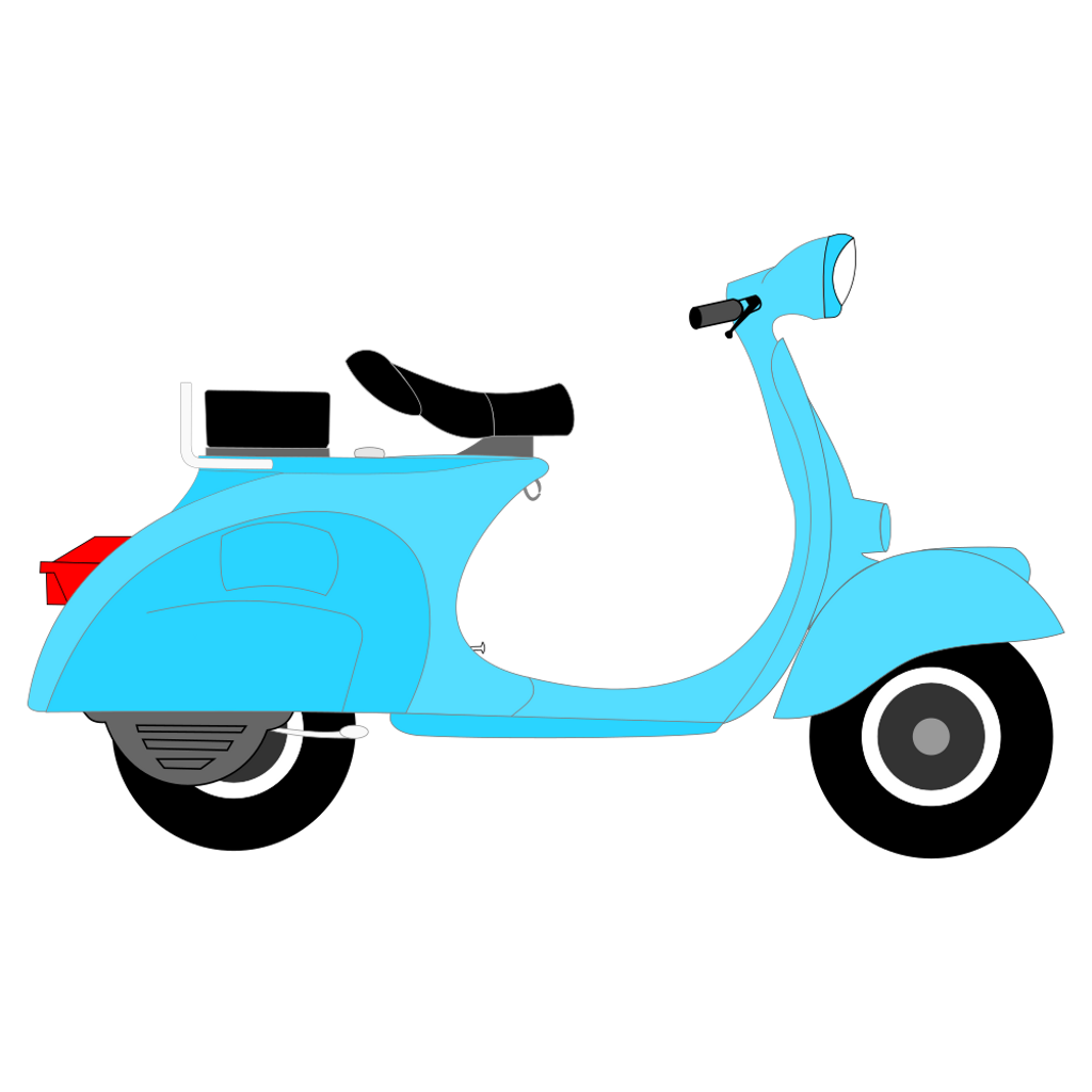 clip freeuse library ftestickers scooter drawing