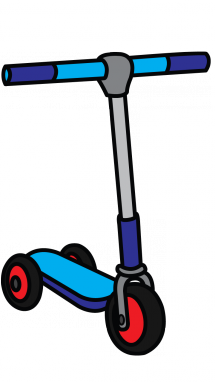 vector black and white library scooter drawing cool #102695667
