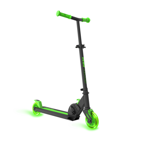 vector library download Neon Vybe Kick Scooter Vector Green for Kids
